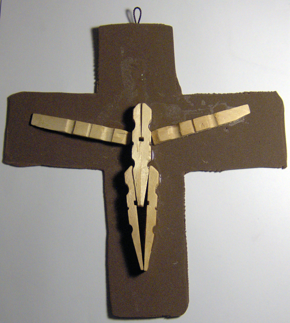 Trinity cross fun family crafts for Cross craft for kids