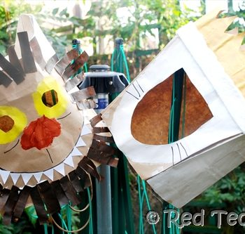 Where The Wild Things Are Paper Bag Crafts