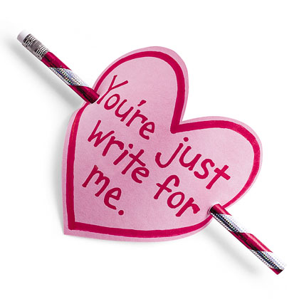 "The ""Write"" Valentine's Day Card"