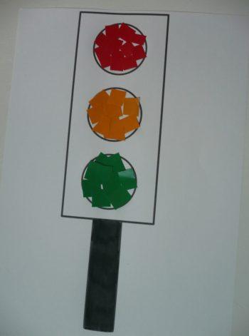 Paper Traffic Lights