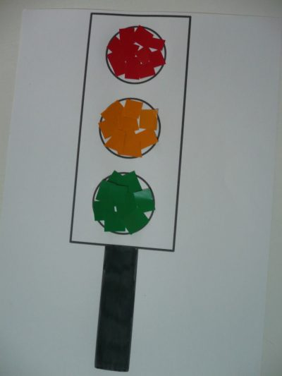 Paper Traffic Lights