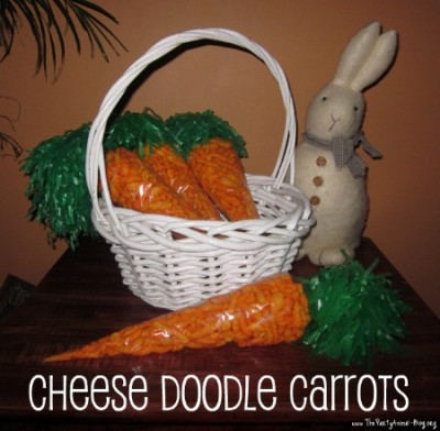 Cheese Doodle Carrots