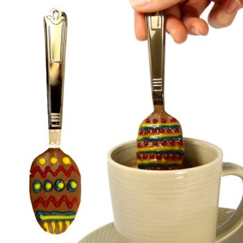 Chocolate Easter Egg Dipping Spoons