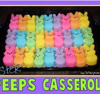 Easter Peeps Casserole