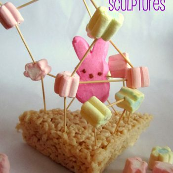 Marshmallow Easter Sculptures