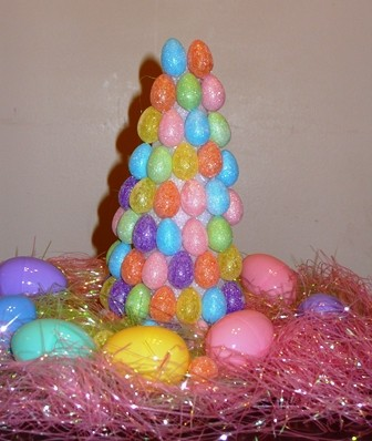 Easter egg tree fun family crafts How to make an easter egg tree
