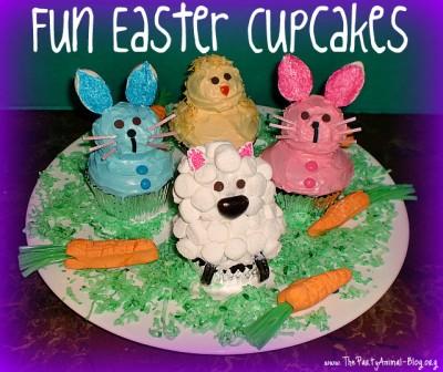 Fun Easter Cupcakes