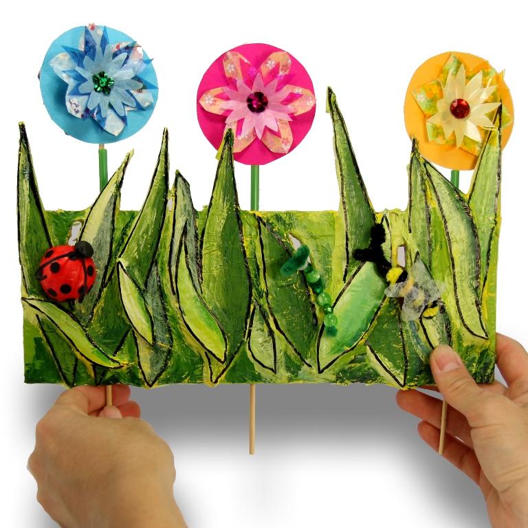 3D Flower Garden