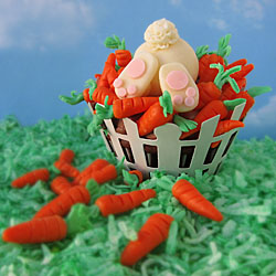 Ravenous Rabbit Cupcake