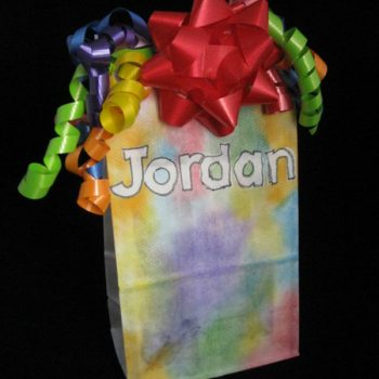 Personalized Lunchsack Gift Bag