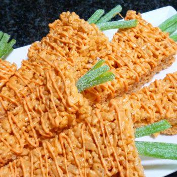 Rice Krispie Carrots