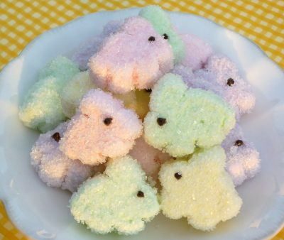 Sugared Marshmallow Bunnies