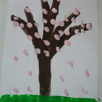 Spring Almond Tree