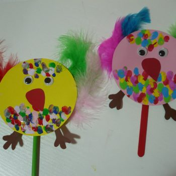 Crazy Easter Chicks