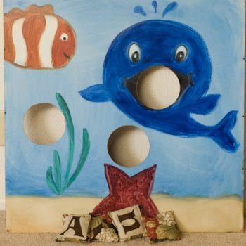 Under the Sea Bean Bag Board