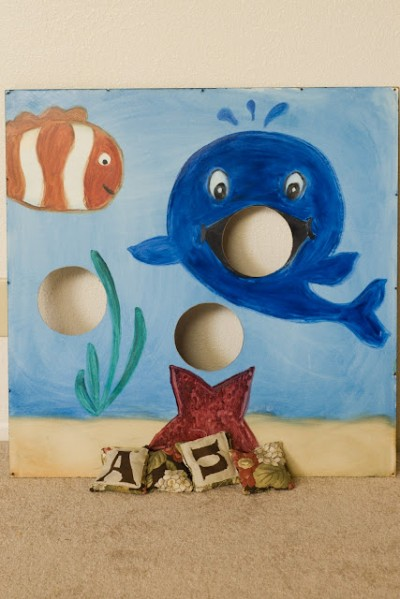 Under the Sea Bean Bag Board