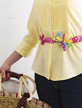 Knotted Bandana Belts