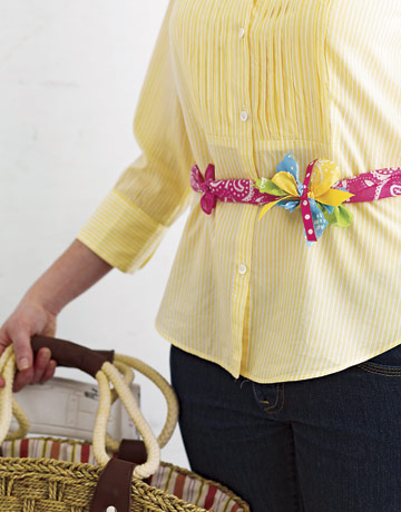 Knotted Bandana Belts