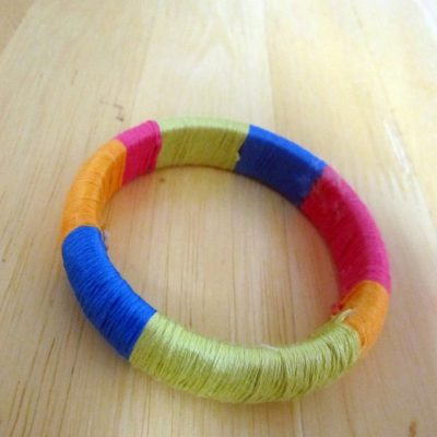 Color Block Bangle