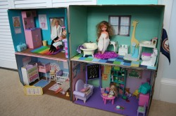 Barbie Box House