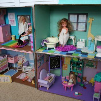 Barbie Box House