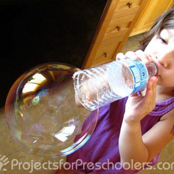 Water Bottle Bubble Fun