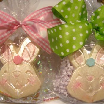 White Chocolate Easter Bunnies