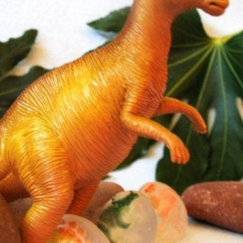 Dinosaur Egg Soap