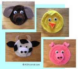 Farm Animal Magnets