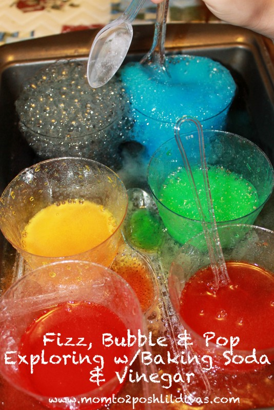 Fizz, Bubble, & Pop Science Experiment