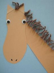 Foot Print Horse