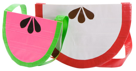 Fruit Shaped Duct Tape Purse