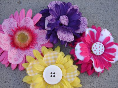 Spring Flowers for Your Hair