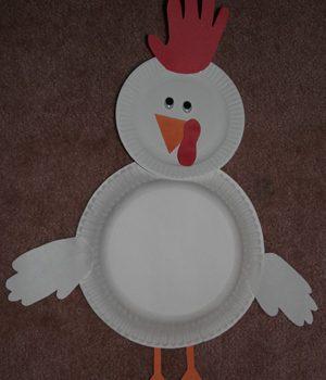 Hand Print Chicken