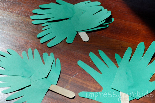 palm sunday crafts handprint palm branches for palm sunday family crafts 2605