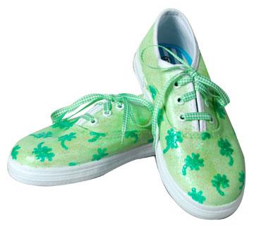 Lucky Shamrock Shoes
