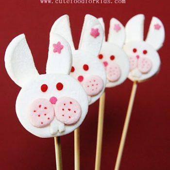 Marshmallow Bunny Pops