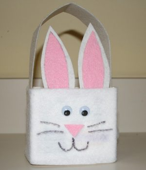 Milk Carton Easter Bunny Basket