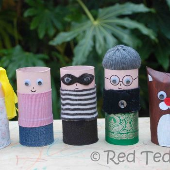 Cardboard Tube People
