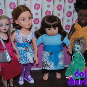 No Sew Doll Dresses