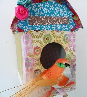 Pretty Paper Birdhouse