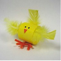 Paper Loop Chick Fun Family Crafts