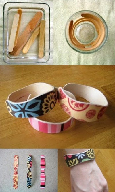 Popsicle Bracelet Cuffs