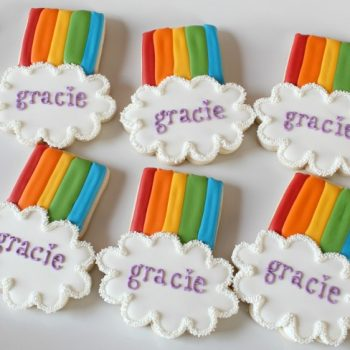Rainbow Cookie Favors