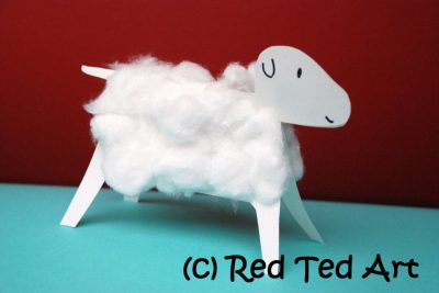 3d Woolly Lamb Fun Family Crafts