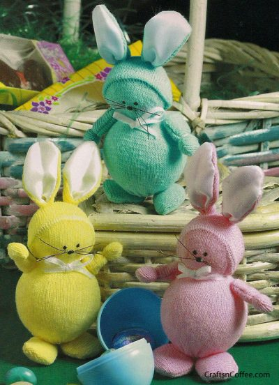 Easter Bunny Sock Craft