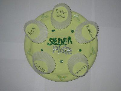 Spring Seder Plate