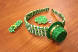 St. Patrick's Day Headbands and Clips