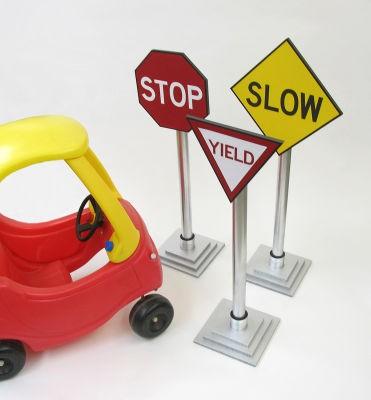 Toddler Traffic Signs Fun Family Crafts