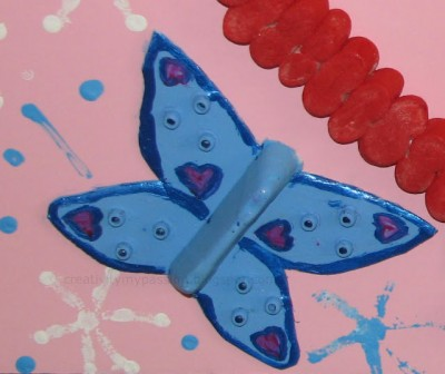 styrofoam egg carton butterfly fun family crafts